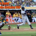 Austin Jackson Detroit Tigers Strikes Out