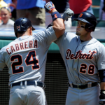 Verlander, Scherzer, Tigers Back on Track- Sweep Tribe : #Tigers